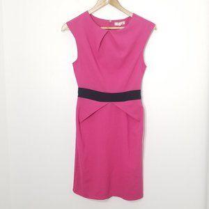 Emamoda | Pink Sheath Dress Small Sleeveless Mini